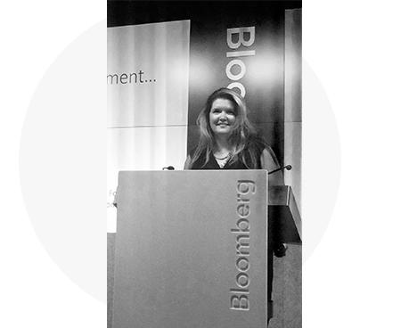 Angela Hood at Bloomberg